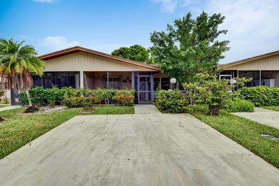Delray Beach Single Family Home For Sale: 14545 Lucy Drive