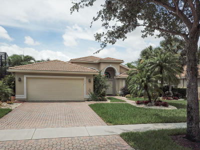 Lake Worth Single Family Home For Sale: 7646 Tarpon Cove Circle