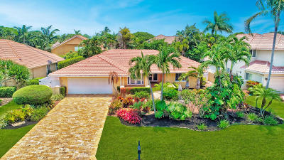 Boca Raton Single Family Home For Sale: 6155 Vista Linda Lane