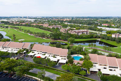 West Palm Beach Townhouse For Sale: 2451 Presidential Way #C