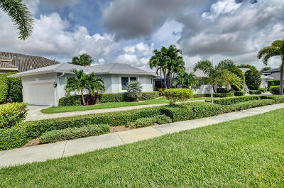 Boca Bay Colony Single Family Home For Sale: 7425 NE 8th Court