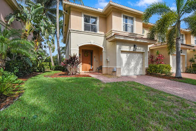 Palm Beach Gardens Townhouse For Sale: 6143 Seminole Gardens Circle