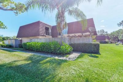 Palm Beach Gardens Townhouse For Sale: 502 5th Lane