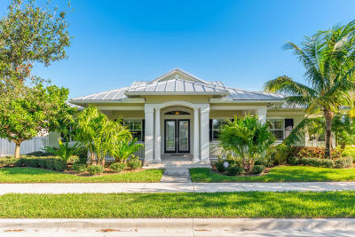 Jupiter Single Family Home For Sale: 1025 Jeaga Drive