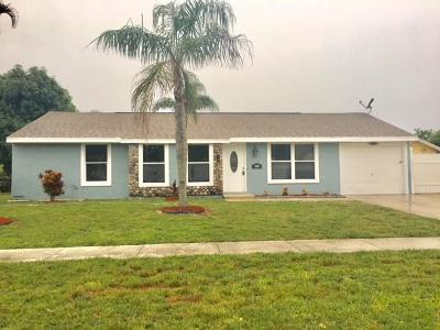 Royal Palm Beach Single Family Home For Sale: 1431 Donwoods Lane