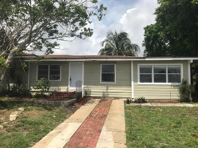 West Palm Beach Single Family Home For Sale: 5409 Western Avenue
