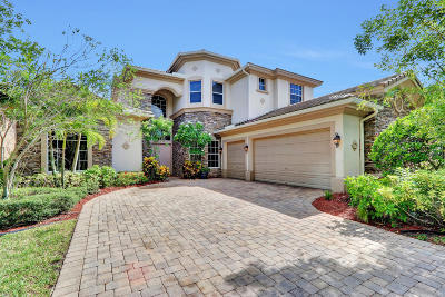 West Palm Beach Single Family Home For Sale: 8752 Wellington View Drive