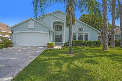 Jupiter Single Family Home For Sale: 6225 Hollywood Street