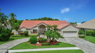 Boca Raton Single Family Home For Sale: 17559 Bocaire Way