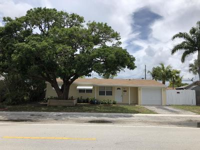 Deerfield Beach Single Family Home For Sale: 1425 S Deerfield Avenue