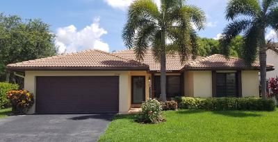 Coral Springs Single Family Home For Sale: 10981 Cypress Run Circle