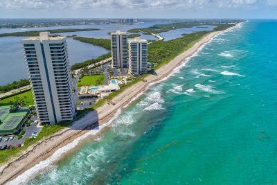 Palm Beach County Condo For Sale: 5510 Ocean Drive #7 B