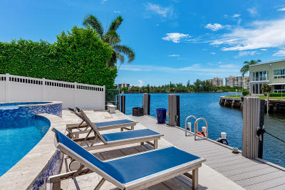 Boca Raton Single Family Home For Sale: 720 NE Harbour Drive