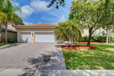 Lake Worth Single Family Home For Sale: 10400 Cypress Lakes Preser Drive