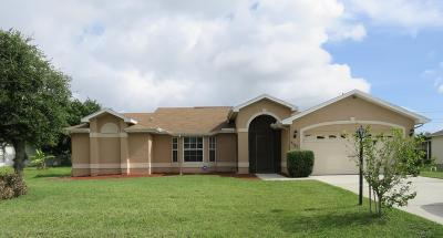 Port Saint Lucie Single Family Home For Sale: 5121 NW Ever Road