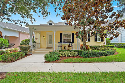 Jupiter Single Family Home For Sale: 214 Marlberry Circle