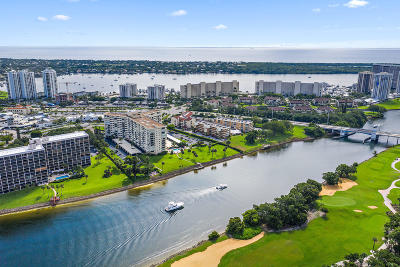 North Palm Beach Condo For Sale: 336 Golfview Road #506