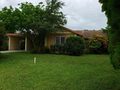 Royal Palm Beach Single Family Home For Sale: 1341 Westside Way