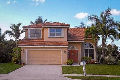 Boynton Beach Single Family Home For Sale: 8710 Jade Court