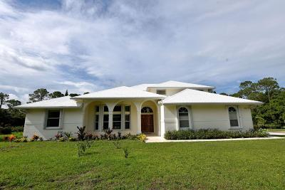 Jupiter Single Family Home For Sale: 11532 177th Place