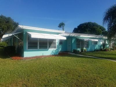 Boynton Beach FL Single Family Home For Sale: $79,900
