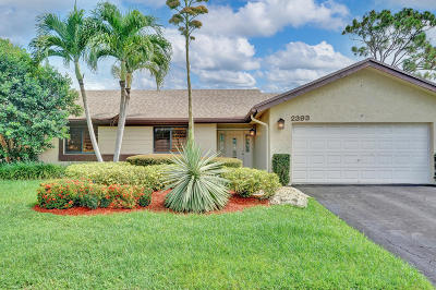 Boca Raton Single Family Home For Sale: 2393 NW 30th Road
