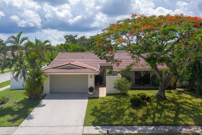 Boca Raton Single Family Home For Sale: 3374 NW 27th Terrace