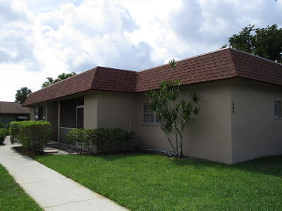 Boynton Beach Single Family Home For Sale: 1902 Palmland Drive #1