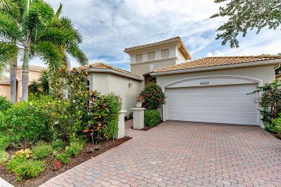 Wellington Single Family Home For Sale: 8609 Via Brilliante