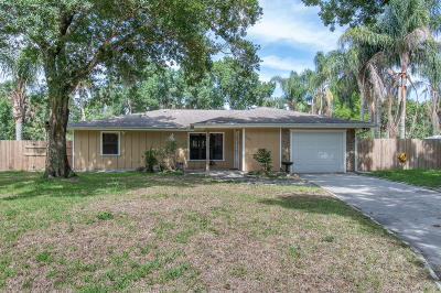 Vero Beach Single Family Home For Sale: 1860 Flora Lane