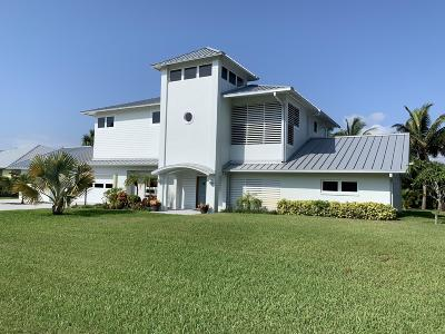 Hutchinson Island Single Family Home For Sale: 2413 Tamarind Drive