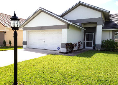 Wellington Single Family Home For Sale: 12698 Coral Breeze Drive