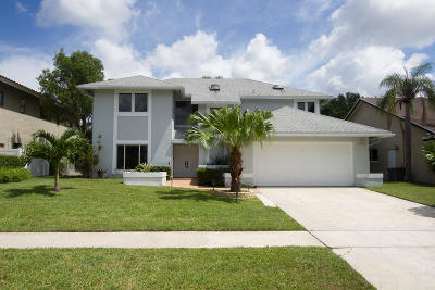 Boca Raton Single Family Home For Sale: 6303 Amberwoods Drive