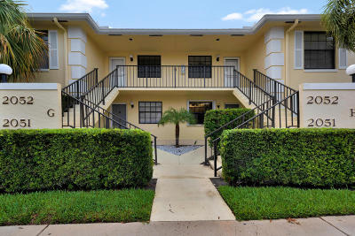 Jupiter Condo For Sale: 2052 Keystone Drive #G