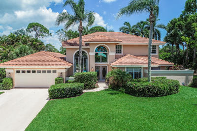Hobe Sound Single Family Home For Sale: 8493 SE Woodcrest Place