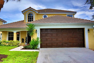 Delray Beach Single Family Home For Sale: 1162 Canoe Point