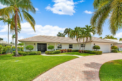 Riviera Beach FL Single Family Home For Sale: $1,475,000