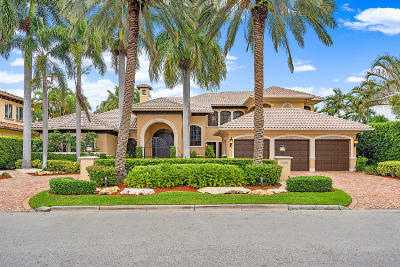 Boca Raton Single Family Home For Sale: 1655 Royal Palm Way