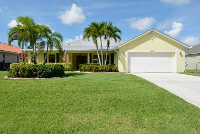 Port Saint Lucie, Saint Lucie West Single Family Home For Sale: 1678 SW Lexington Drive