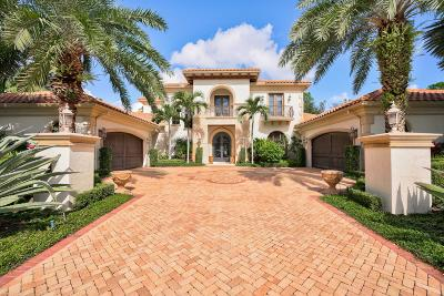 Palm Beach Gardens FL Single Family Home For Sale: $3,899,000