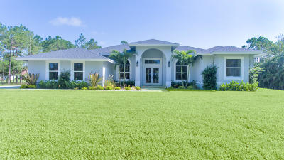 Palm Beach County Single Family Home For Sale: 16647 70th Street