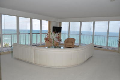 Highland Beach Rental For Rent: 3505 S Ocean Boulevard #7n