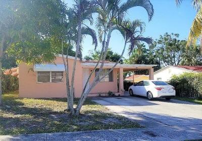 West Palm Beach Single Family Home For Sale: 918 Green Street
