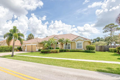 Jupiter Single Family Home For Sale: 19087 SE Loxahatchee River Road