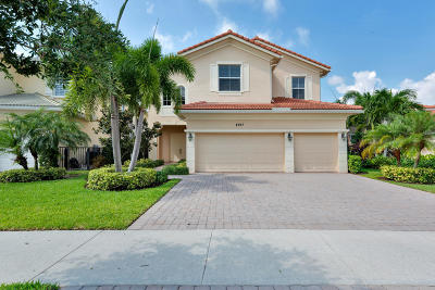Palm Beach Gardens Single Family Home For Sale: 4917 Pacifico Court