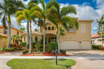 Lake Worth Single Family Home For Sale: 8479 Club Estates Way