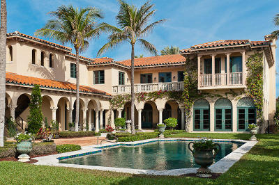 Palm Beach FL Single Family Home For Sale: $11,795,000