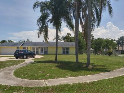 Port Saint Lucie, Saint Lucie West Single Family Home For Sale: 331 NE Camelot Drive