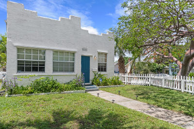 West Palm Beach Single Family Home Contingent: 646 33rd Street