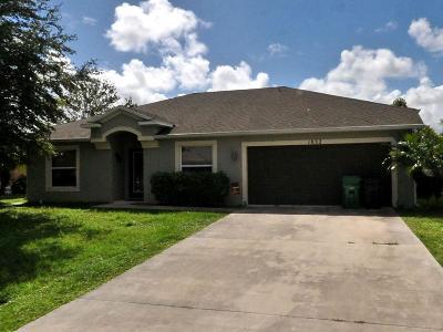 Port Saint Lucie Single Family Home For Sale: 1032 SE SEagrass Avenue